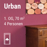 Link zum Apartment Urban